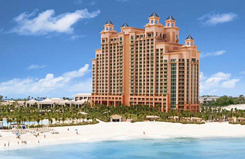 Exterior view of Atlantis, Paradise Island - Beach Tower.