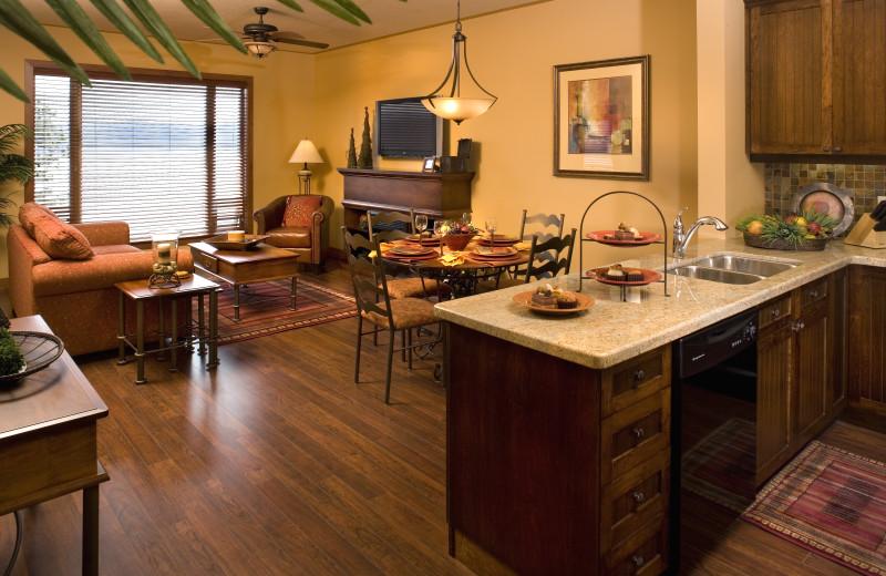 Spacious accommodations at Lake Okanagan Resort