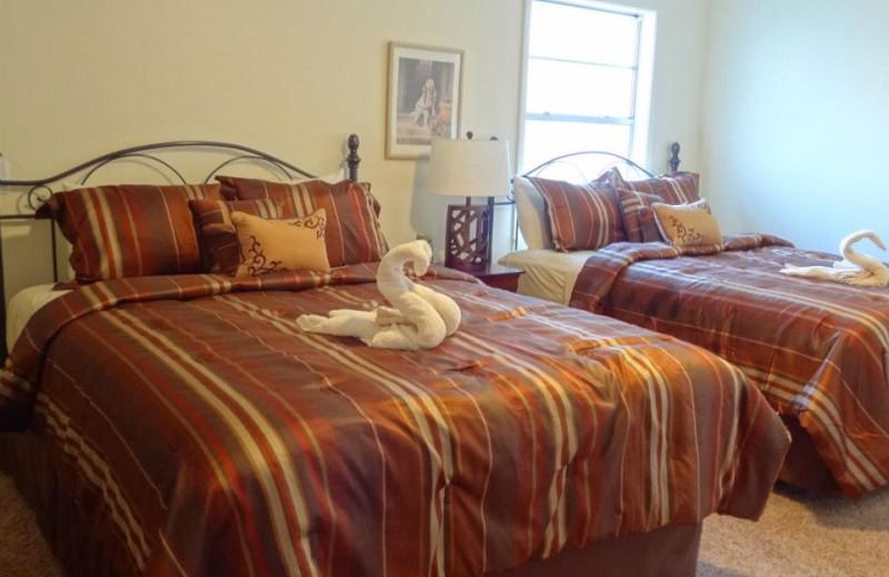 Joplin guest room at Mountain Harbor Resort.