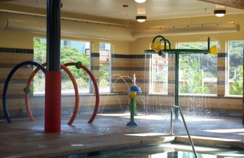 Kid's Aquatic Area at Driftwood Shores Resort.