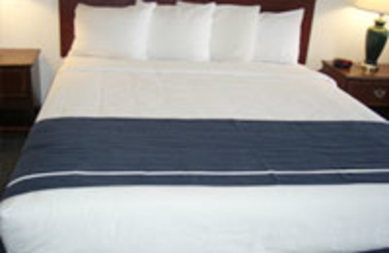Guest Bed at Milpitas Inn