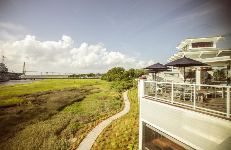 Enjoy the views at Charleston Harbor Resort