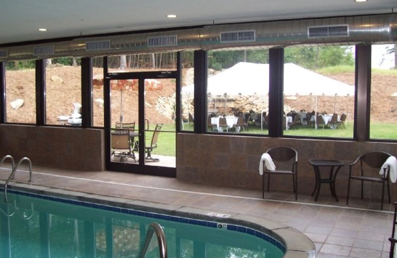 Indoor pool at Mountain Lodge & Conference.