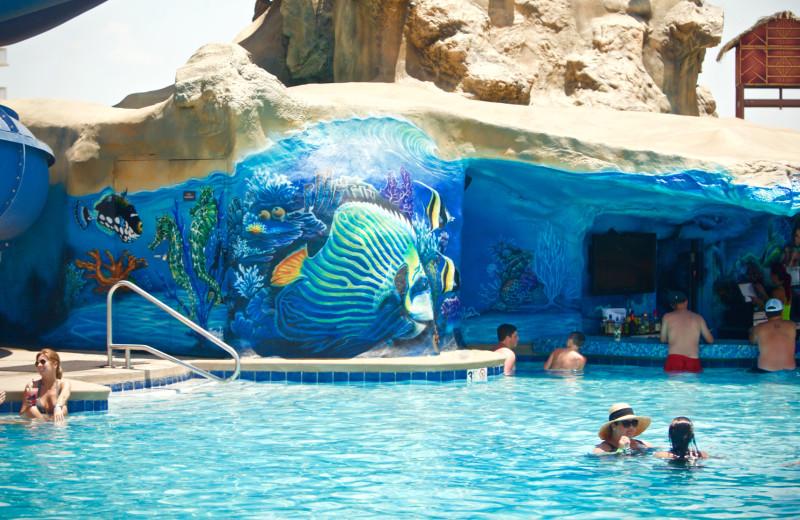Pool at Margaritaville Resort Biloxi.