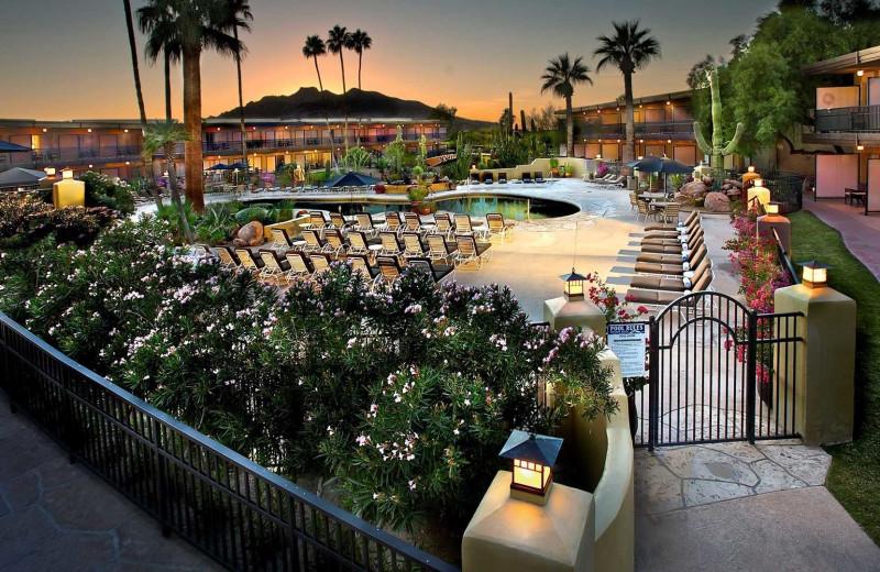 Outdoor pool at Carefree Resort & Villas.
