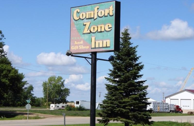 Exterior view of Comfort Zone Inn.