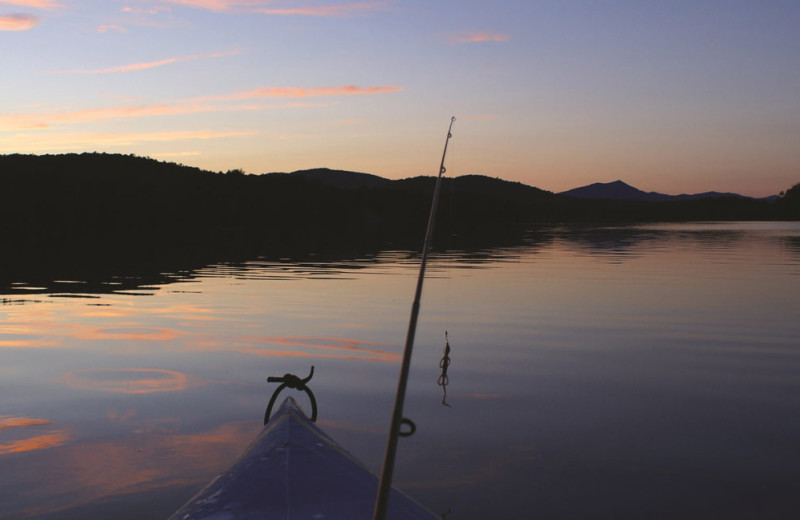 Fishing at Stoweflake Mountain Resort & Spa.