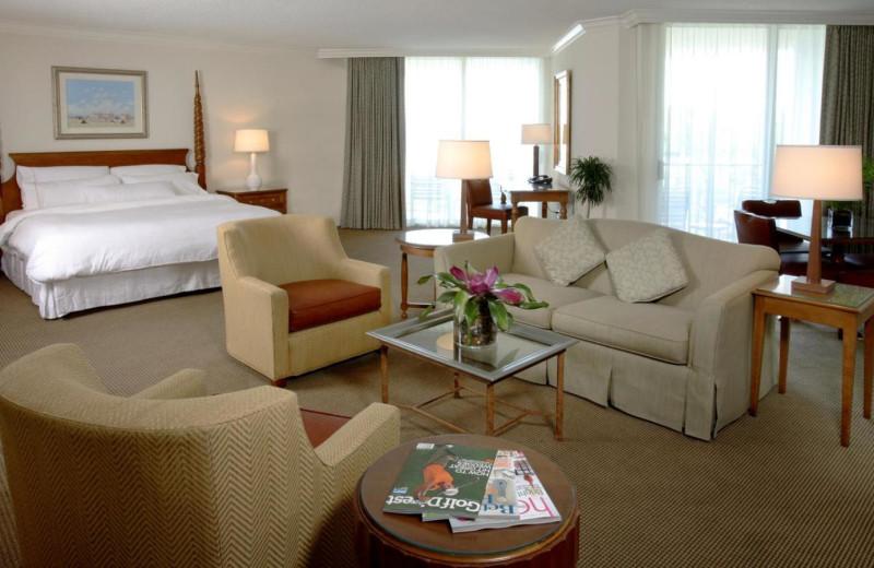 Interior Suite at  The Westin Hilton