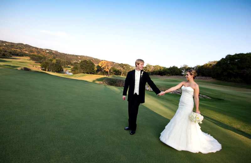 Wedding at Omni Barton Creek Resort & Spa.