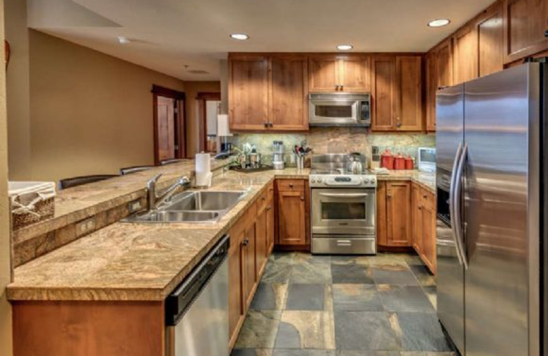 Rental kitchen at Pullen Rental Group.