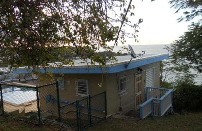 Rental exterior at Paradise Cove Resort.