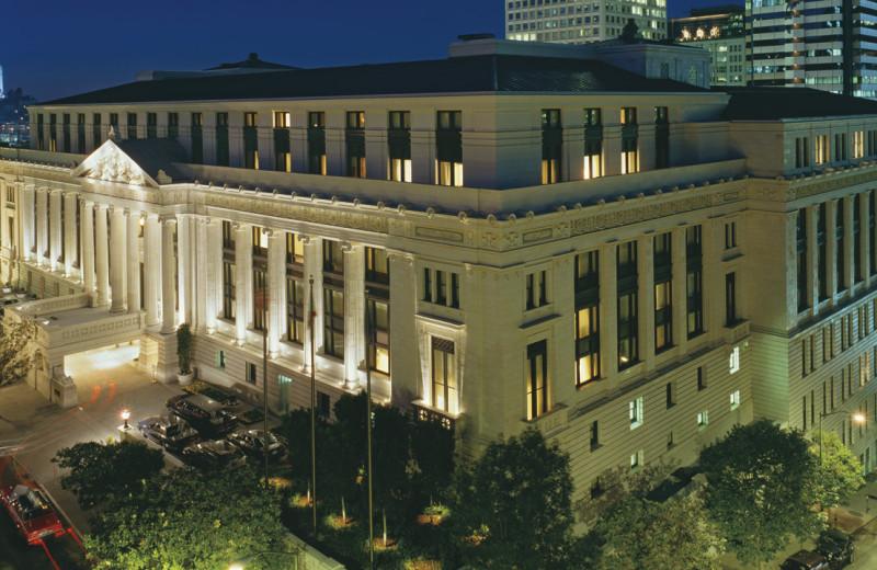Exterior view of Ritz-Carlton, San Francisco.