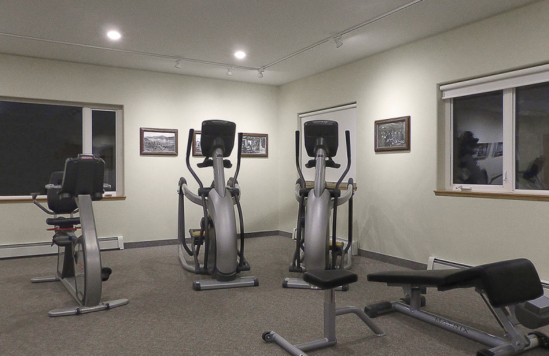 Fitness center at Wedgewood Resort.