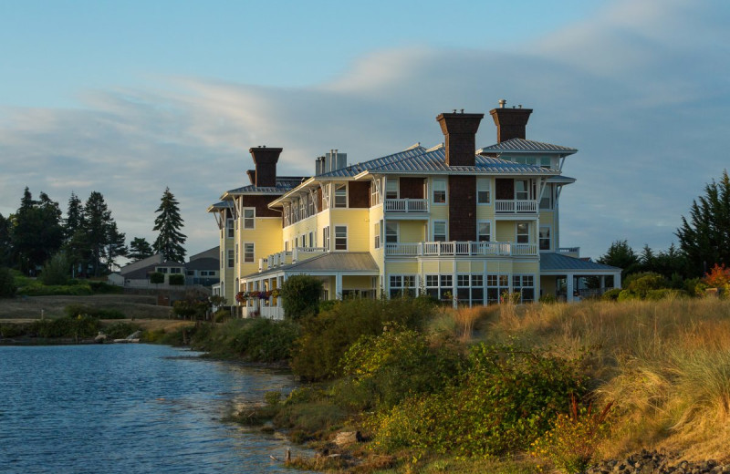 Exterior view of The Resort at Port Ludlow.