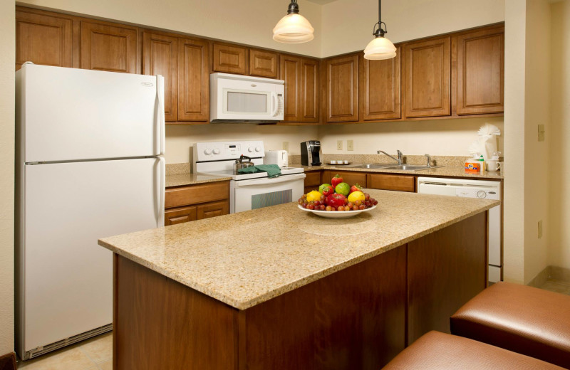 Suite kitchen at Floridays Resort Orlando.