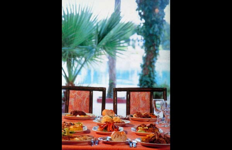 Dining at Abou Nawas Montazah.