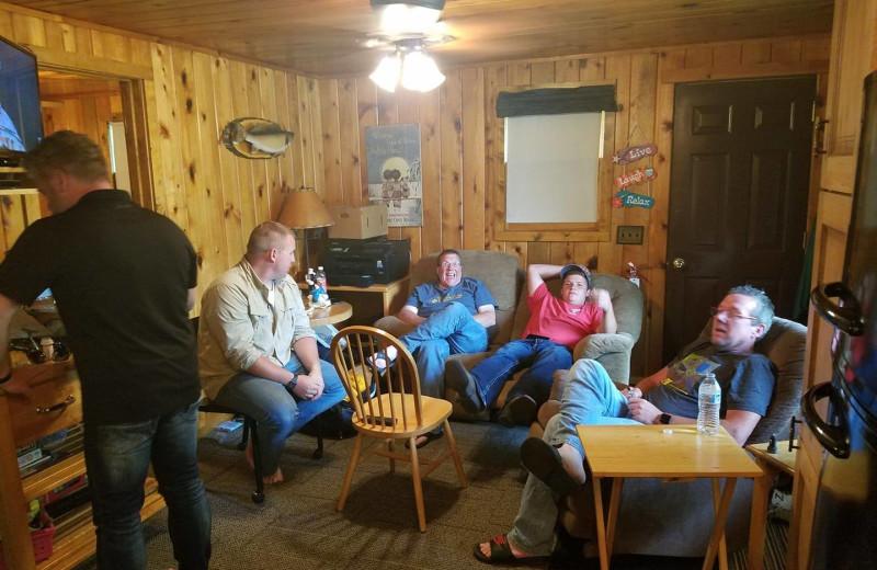 Reunions at Pine Tree Cove Resort.