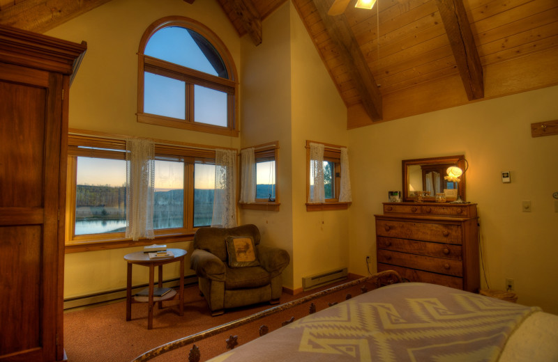 Guest bedroom at The Home Ranch.