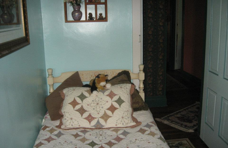 Guest room at Country Haven B&B.