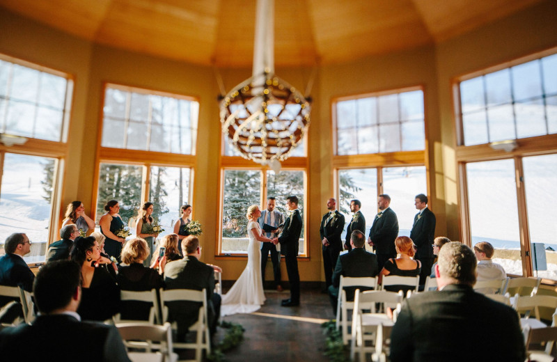 Weddings at Crystal Mountain Resort.