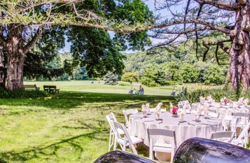 Wedding at Shawnee Inn and Golf Resort.
