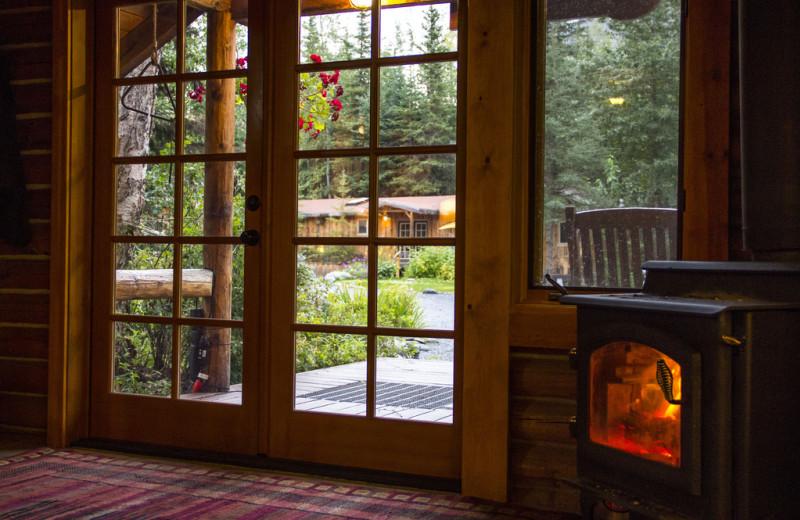 View from Kenai Riverside Lodge.
