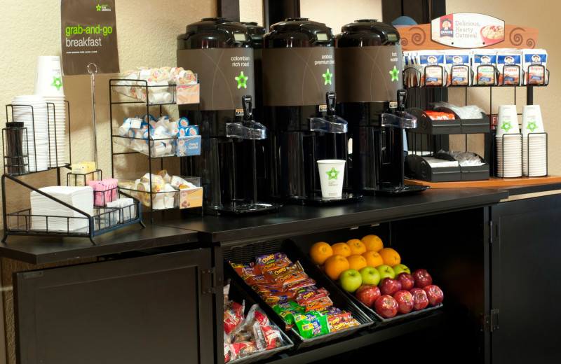 Breakfast bar at Extended Stay Deluxe San Antonio - Colonnade.
