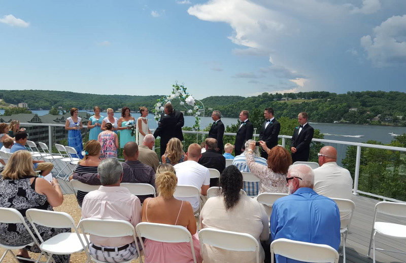 Wedding at Lake Breeze Resort.