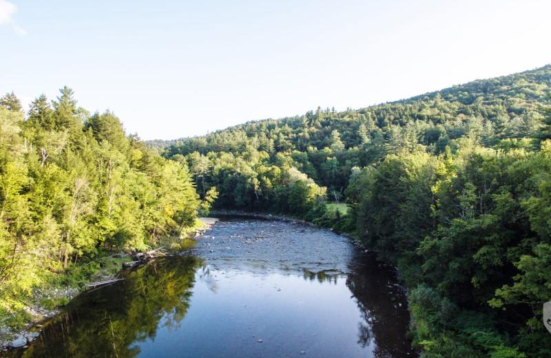 River view at Killington Rental Associates.