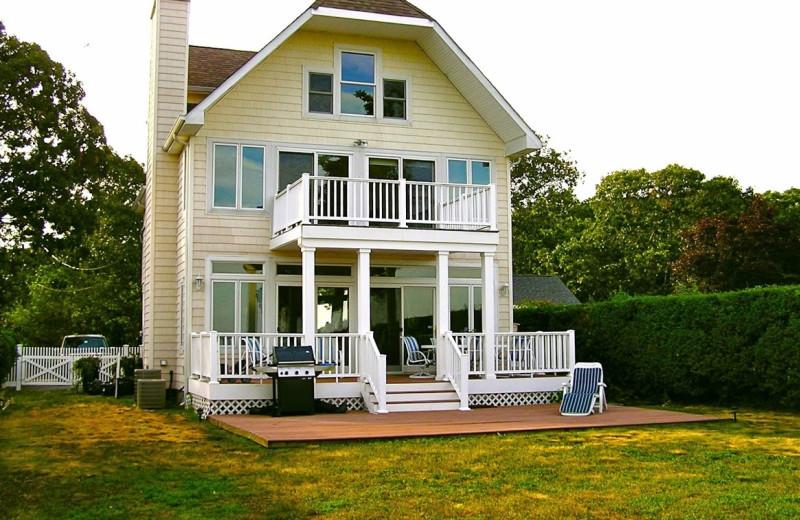 Rental exterior at Shorecrest Beach House.