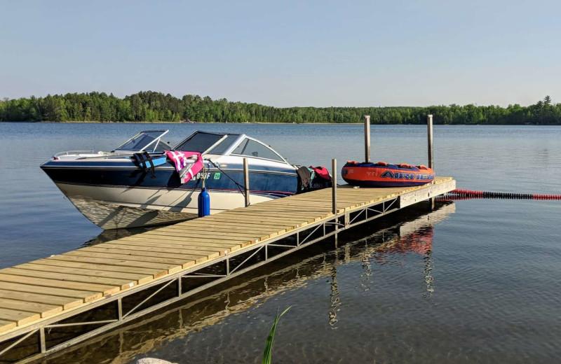 Dock at Little Norway Resort.