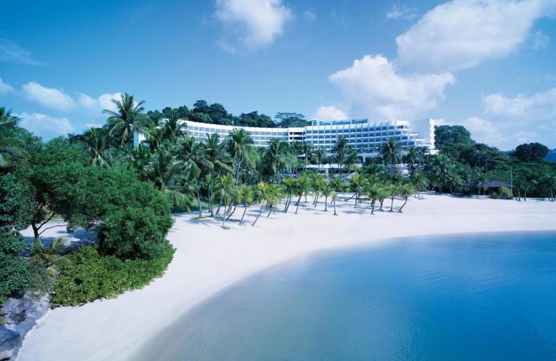 Exterior view of Shangri-La's Rasa Sentosa Resort-Singapore.