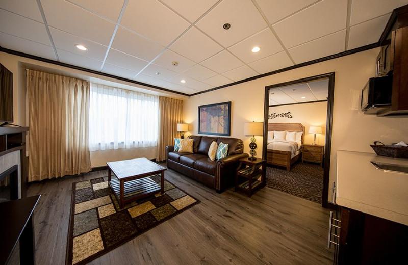 Guest room at Coast Prince Rupert Hotel.