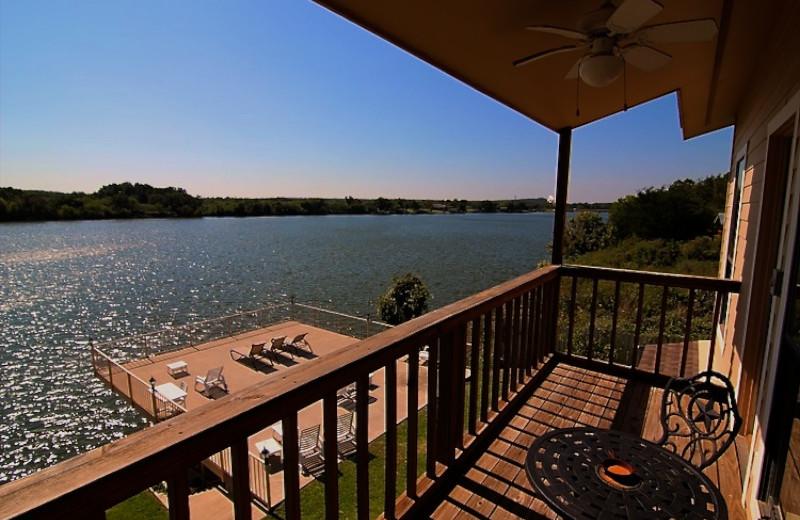 Llano Vista Master Bedroom Balcony