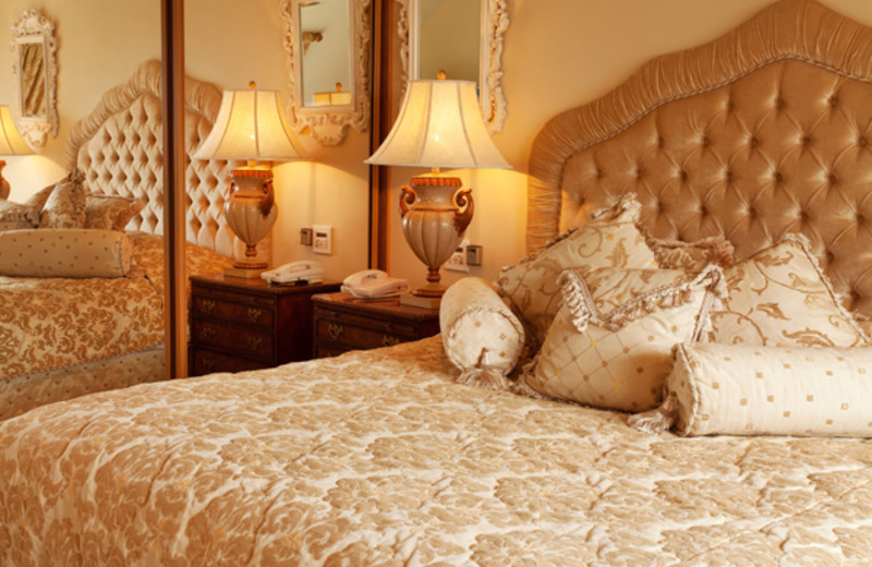 Bedroom at The Heritage.