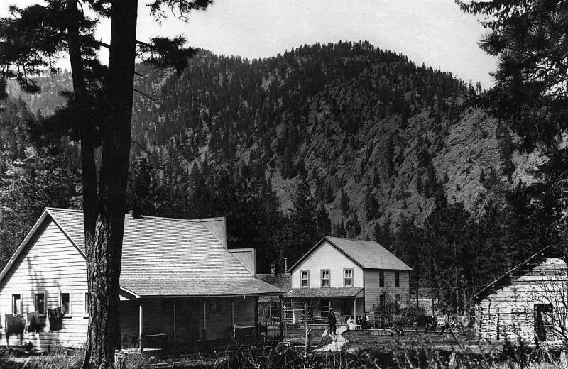 Historic photo of Quinn's Hot Springs Resort