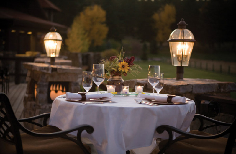 Dinner for two at The Resort at Paws Up.