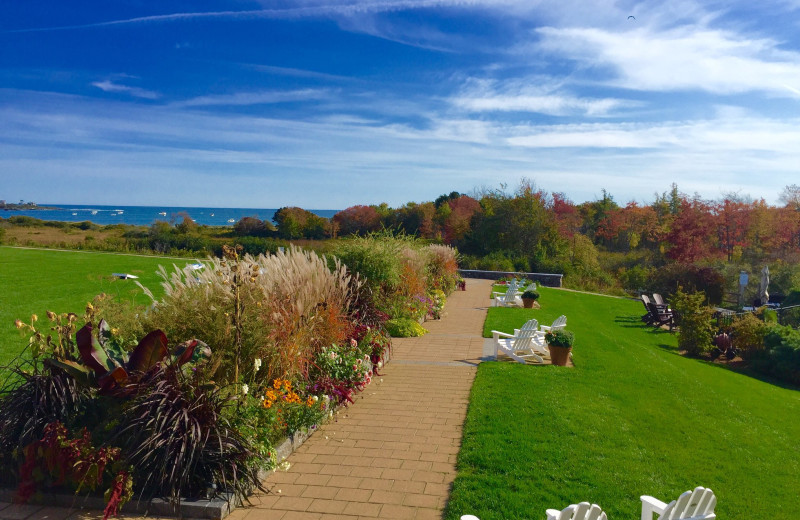Grounds at Inn by the Sea.