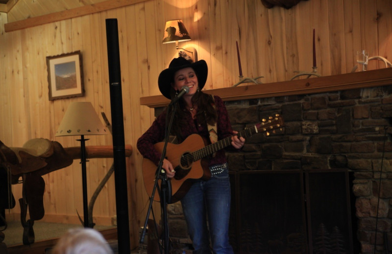 Live music at Elk Mountain Ranch.