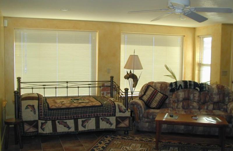 Room interior at K3 Guest Ranch.