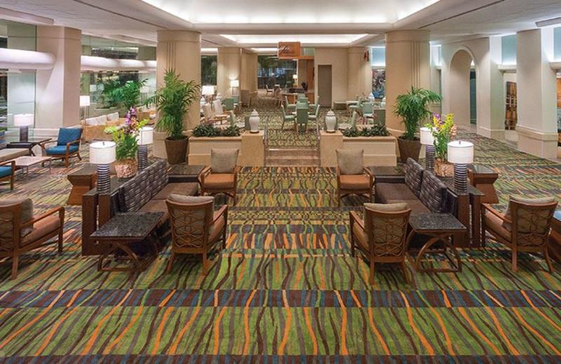 Lobby Area at Ala Moana Hotel