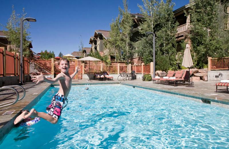 Swimming at Lodges at Deer Valley.