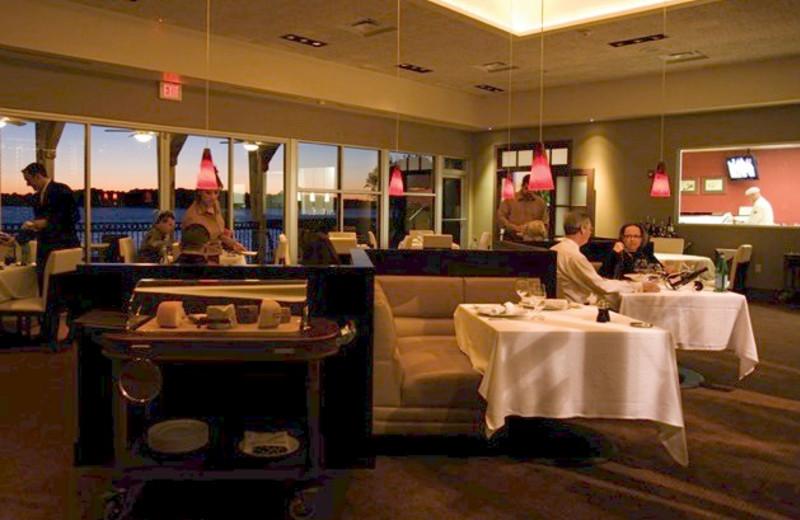 Restaurant at La Torretta Lake Resort.