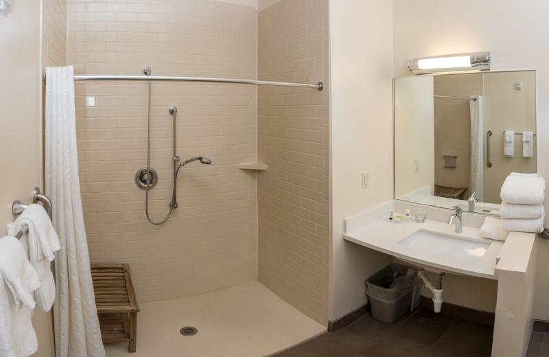 ADA bathroom at Candlewood Suites - Stevensville.