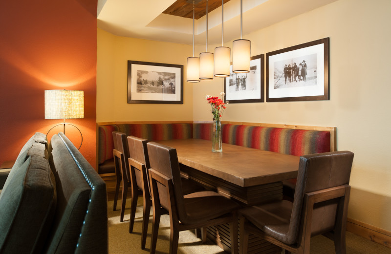 Guest dining room at Grand Summit.