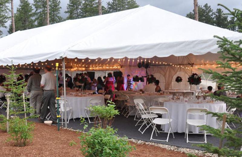Wedding reception at Summer Creek Inn & Spa.