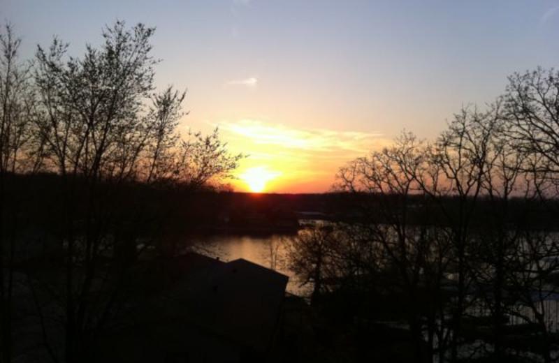 Beautiful Sunset at Summerset Inn Resort