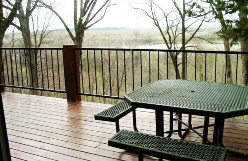 Spacious Deck with Views at Whitetail Ridge