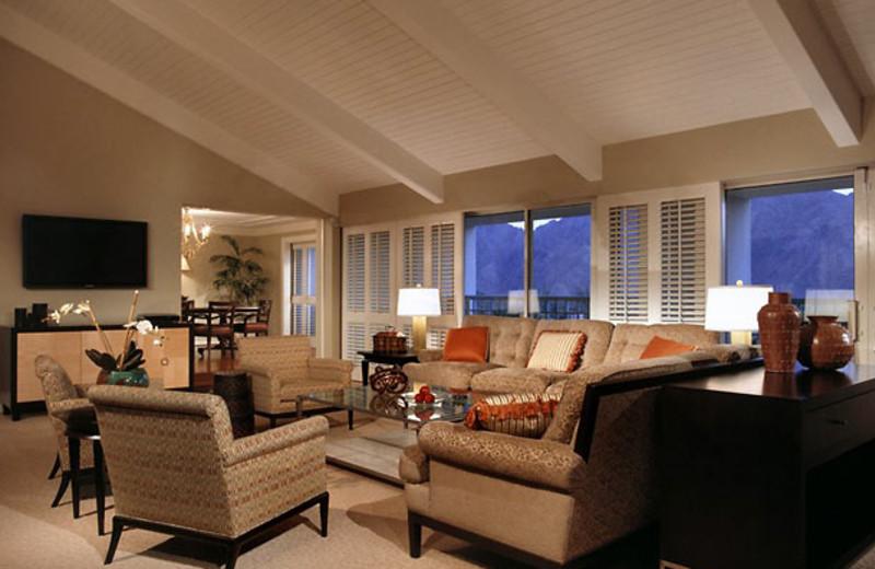Guest suite at Renaissance Esmeralda Resort.