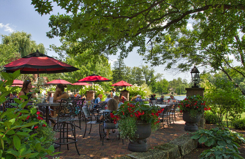 The Piazza Patio at Gervasi Vineyard